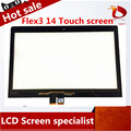 High quality 14.0inch Free shipping wholesale touch screen digitizer glass for Lenovo FLEX 3 14 digitizer for lenovo yoga 500