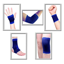 1pair each type Sports Safety Set ,ankle support,arm warmers,elbow & knee pads,wrist support