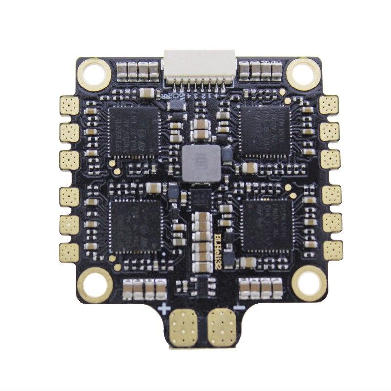 1 pc hakrc blheli 32 bit 50a 4 em 1 módulo esc 5 v/3a controle de velocidade eletrônico para rc zangão fpv aeronaves peças de reposição acesso - 5