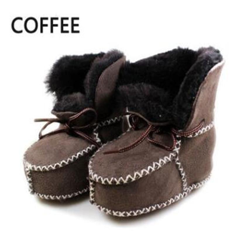 Baby Authentic Sheepskin Slippers Booties Boy Girl Infant Newborn Fur Wool
