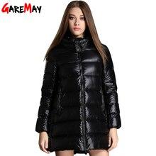 Down Coat Women Winter 2016 Manteau Femme Black Thick Warm Top Waterproof Hooded Jacket Fashion Parka For Women Jaqueta Feminina