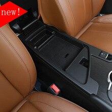 Nuovo!! Per Alfa Romeo Giulia 2017 Nero Box Bracciolo Box Bracciolo Vano Interior Trim Con Logo