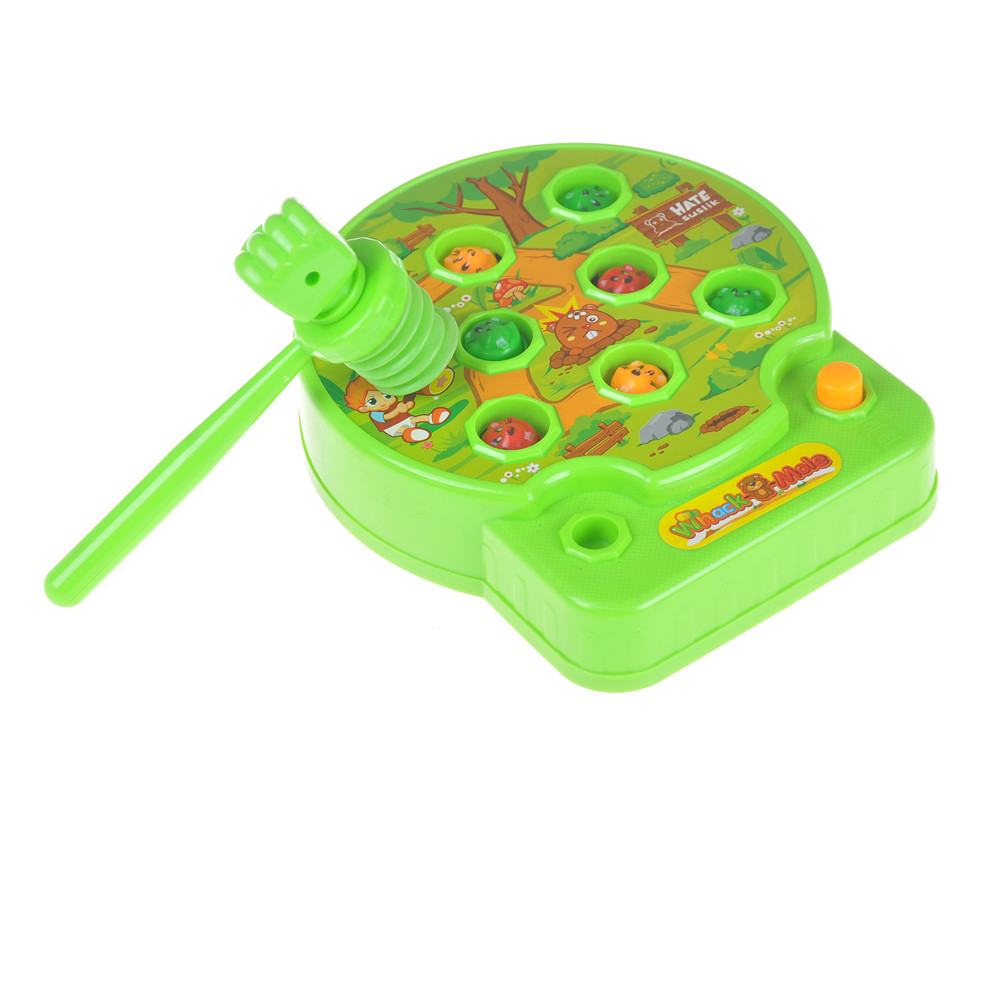 Kids Family Game Toy Baby Whac-A-Mole Mole Hamster Attack  Poke A Mole Electronic Music