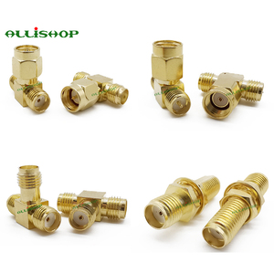 Image 4 - 18Pcs SMA Connector Kits Adapter SMA RP SMA Male and Female RF Coax Coupling Nut Converter For WIFI Antenna Extension Cable