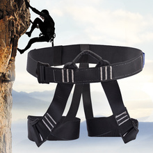 Outdoor camping climbing Safety Harness Seat Belts Sitting Rock Climbing Rappelling Tool Rock Climbing Accessory professional full body 5 point safety harness seat sitting bust belt rock climbing rescue fall arrest protection gear equipment