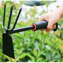 Садовая лопата, пластиковая ручка, лопата для почвы, лопата для овощей, двухцелевая лопатка, многофункциональная Статусная пила, лопата Кирка, садовый инструмент