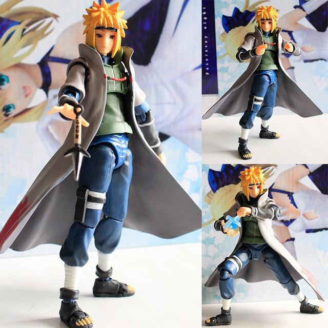 Naruto Shippuden cuarto Hokage yondaime namikaze Minato PVC acción ...