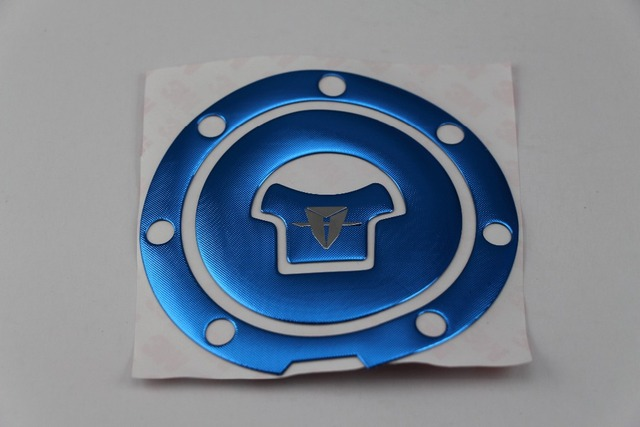 KODASKIN motorcycle Tank Pad Decal  Sticker Protector for CBR600 F4I CBR600RR F5 CBR1000RR CBR1100XX VFR800 CB400 Blue Color