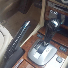 Для Honda Accord 2008-2013 1 шт. углеродного волокна ABS Chrome автомобилей Шестерни ручка переключения Стикеры Панель крышка отделка молдинги стайлинга автомобилей