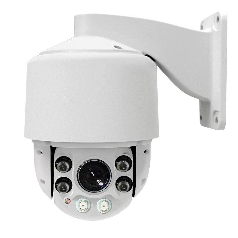 Mini 4 '' PTZ IP kamera Vysokorychlostní kopulovitá kamera H.264 10X ZOOM Vodotěsný CCTV PTZ Síťová kamera Kamera HD ptz kamera