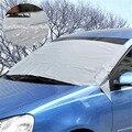 Carro Universal Abrange Carro Sol Sombra Cobertura de Neve PEVA All Weather Protector Pára Geada Gelo para Guarda de Carros SUVs 200X70 CM