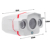 ONVIF CCTV H.264 2MP 1920*1080 1080 P 6 MM Rede IP Impermeável Ao Ar Livre 2 Matriz IR LEDs Noite Camera Security Vision IR