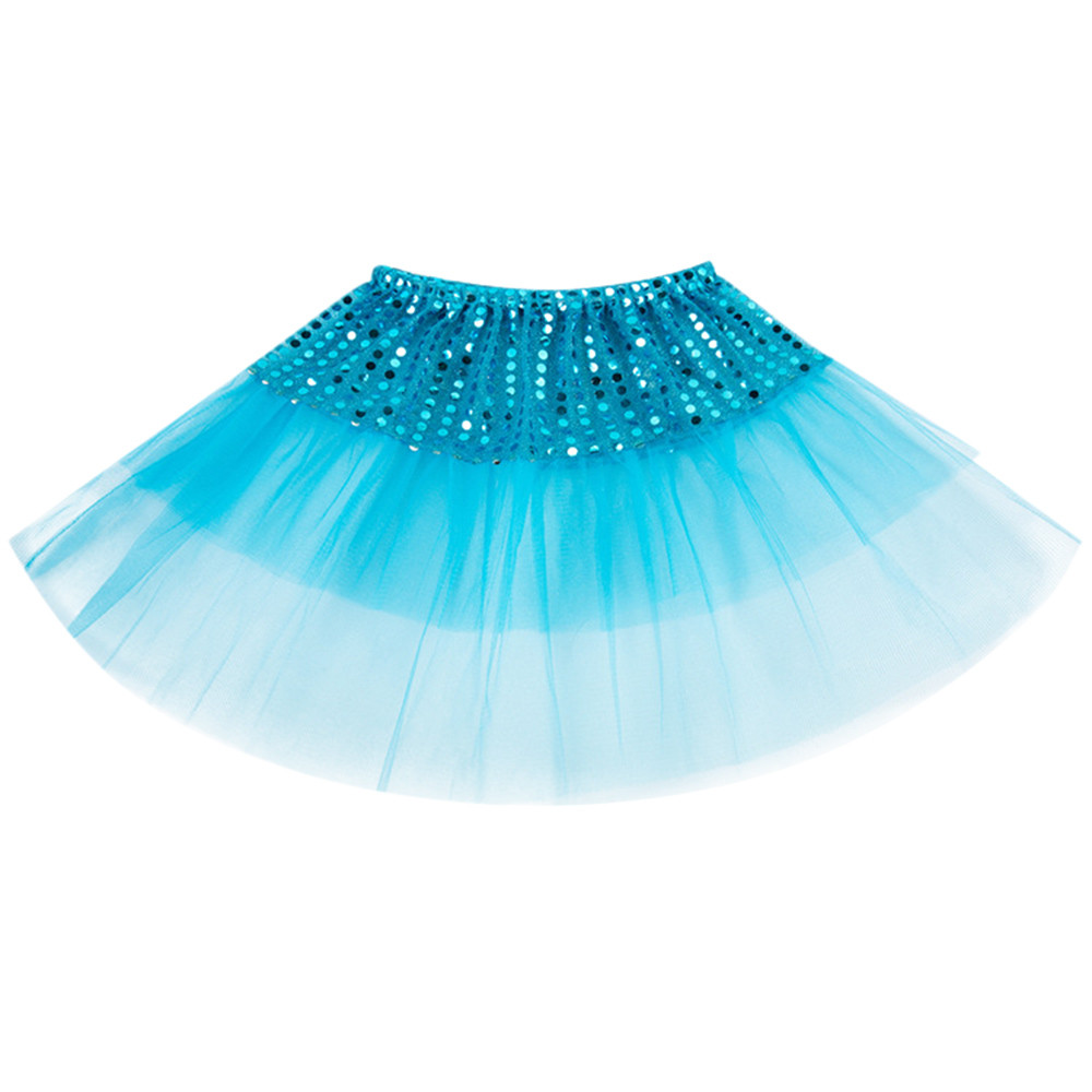 Mesh Princess Girls Kids Tutu Skirt Party Dance 2 - 7 Years Child Girls cute Dancing Party Skirt
