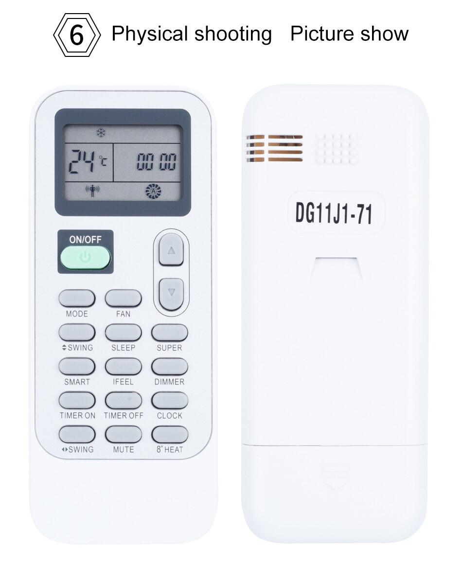 Telecomando Eplace Telecomando Compatibile Per Hisense DG11J1-01 DG11J1-02 DG11J1-04