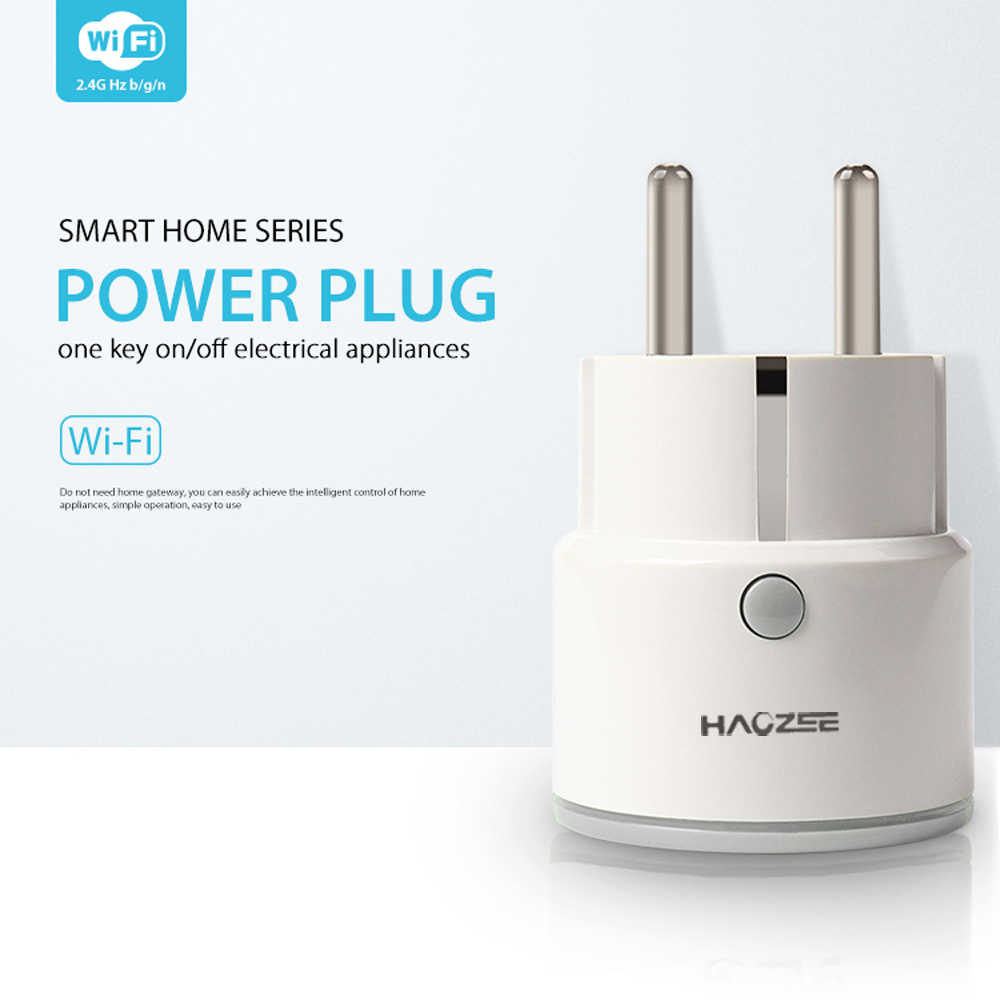 WiFi Smart Plug Mini Wireless Smart Outlet Compatible With Alexa Echo,Google Home,IFTTT for Voice Control,No Hub Required