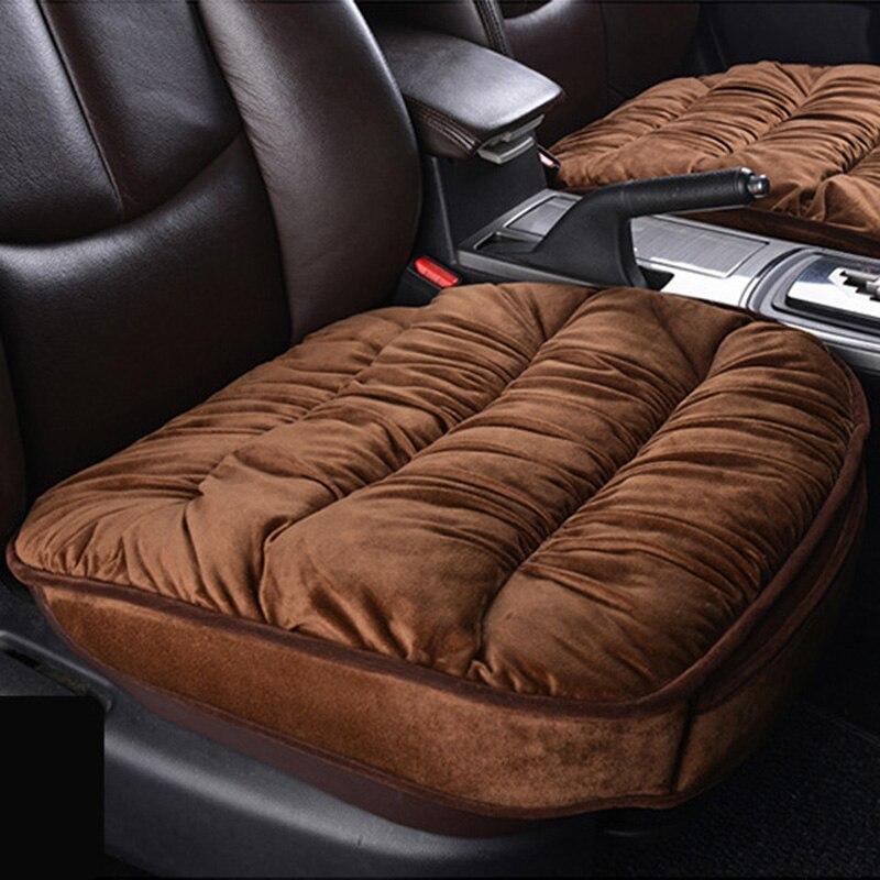 Новые зимние сиденья Подушки Чехлы для мангала, теплая зима толкать автомобиль Чехлы для сидений мотоциклов, автомобиль Стайлинг для BMW Audi Б...