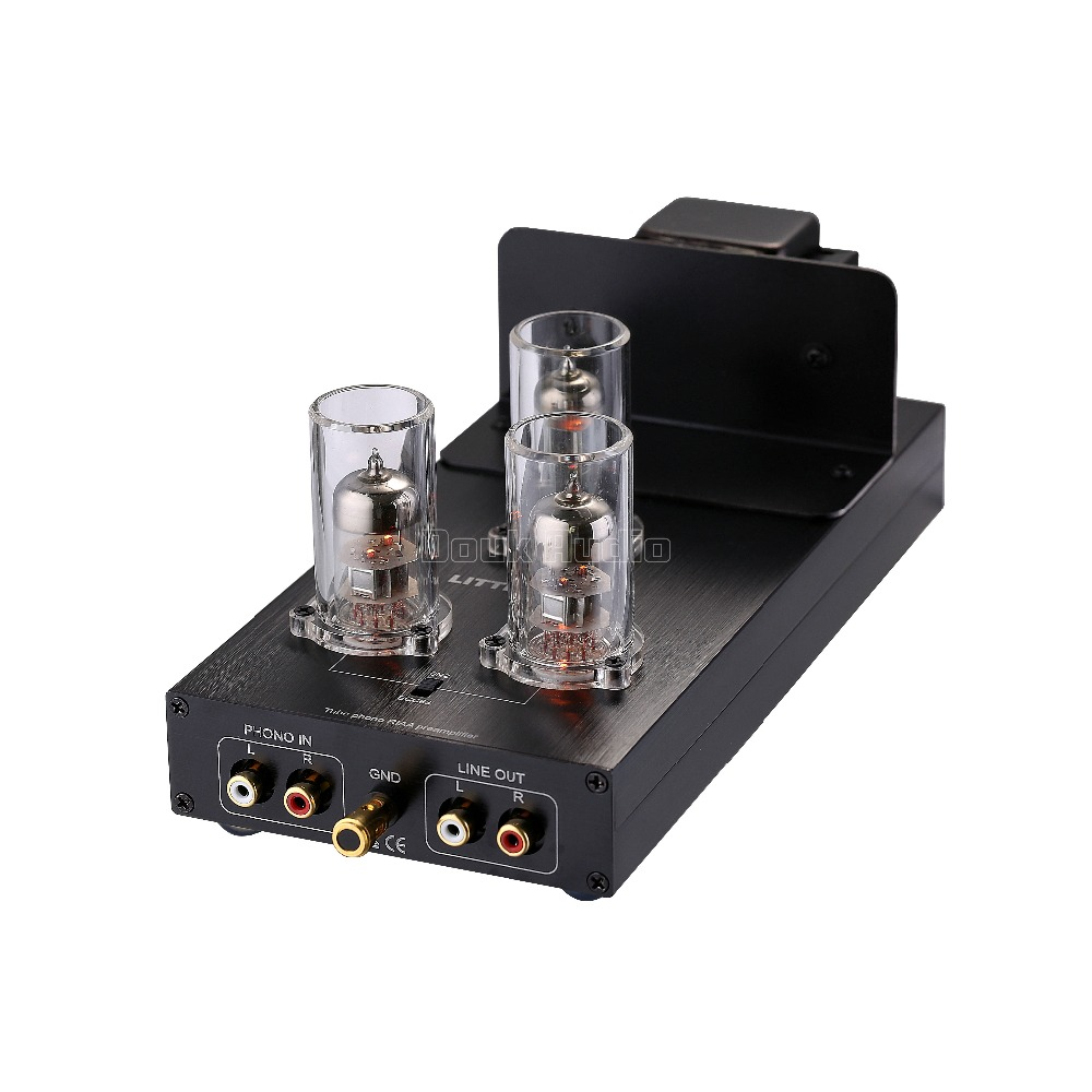 2017 New Nobsound 6N2/ECC83 Vacuum Tube Phono Turntable Preamp HiFi MM RIAA LP Vinyl Pre-Amplifier tube mm phono stage amplifier board pcba ear834 circuit vinyl lp amp no including 12ax7 tubes riaa hifi audio diy free shipping