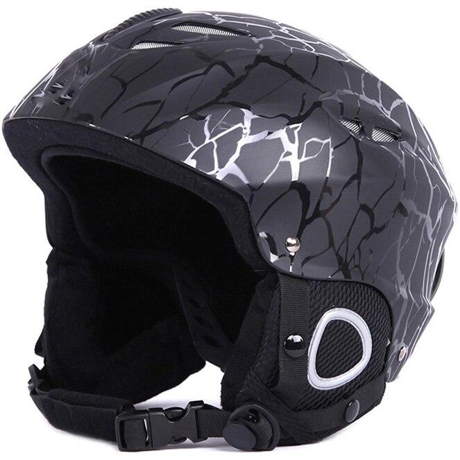 Men Women Ski Helmet Snowboard Snowmobile Helmet Skateboard Skating Sport Safety Helmet Sled Moto Cycling Cap