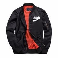 Bomber Jacket 2019 New Men's Jacket Stand Collar Fashion Outwear Autumn Men Coat Bomb Baseball Jackets