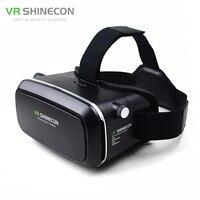 VR Shinecon VR Virtual Reality Real 3D Glasses Helmet Google Cardboard Oculus Rift DK2 For IPhone