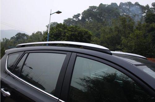 Фото высокое качество серебряный багаж багажник на крышу бар крест