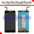 Black 100% New Full LCD DIsplay + Touch Screen Digitizer Assembly For Lenovo Vibe P1m P1ma40 P1mc50 TD-LTE Free shipping