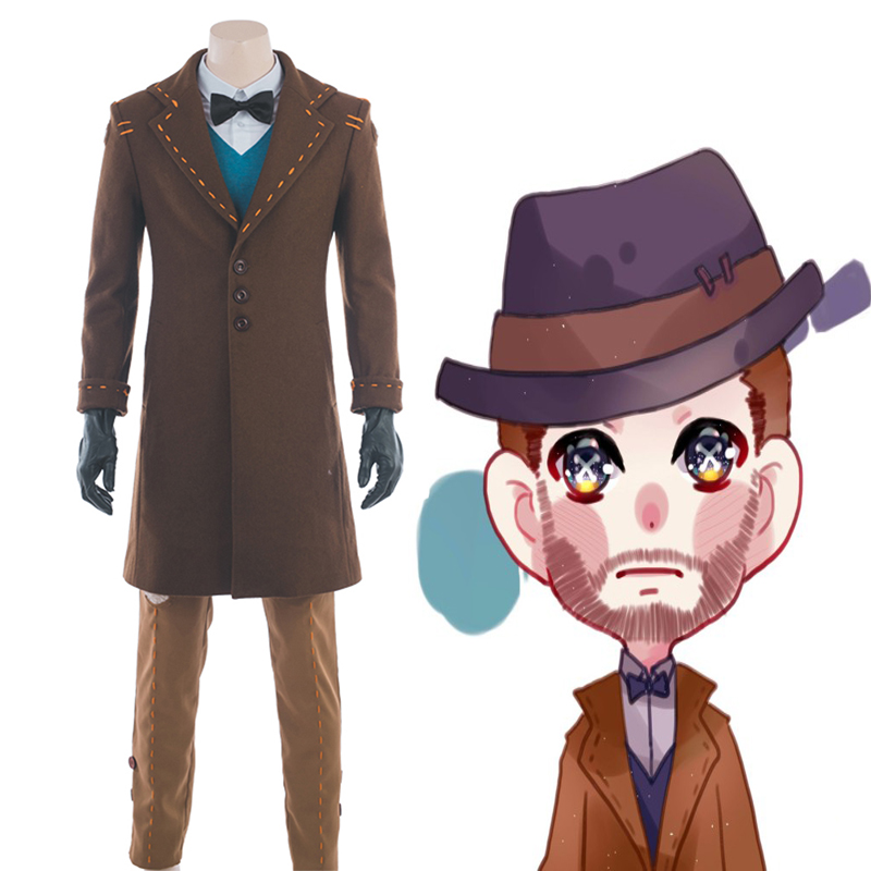 Game Identity V Cosplay Costume Magician Cervi Le Roy Cosplay Costume Magic Clothing Halloween Christmas Party Customized