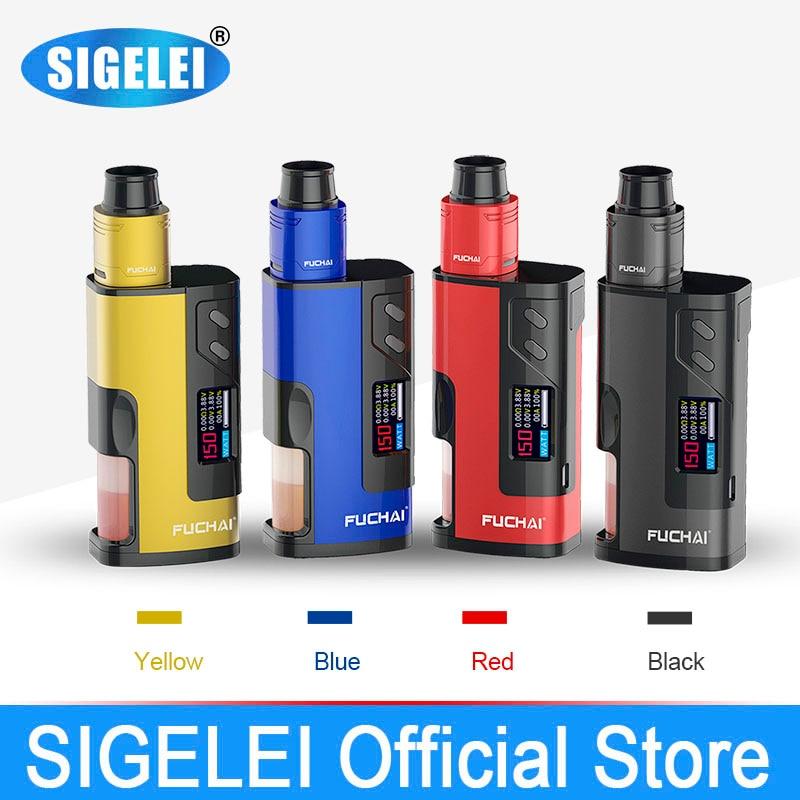 11.11 Big sale NEWEST SIGELEI FUCHAI range Fuchai Squonk 213 e electronic cigarette vape kit mod and atomizer