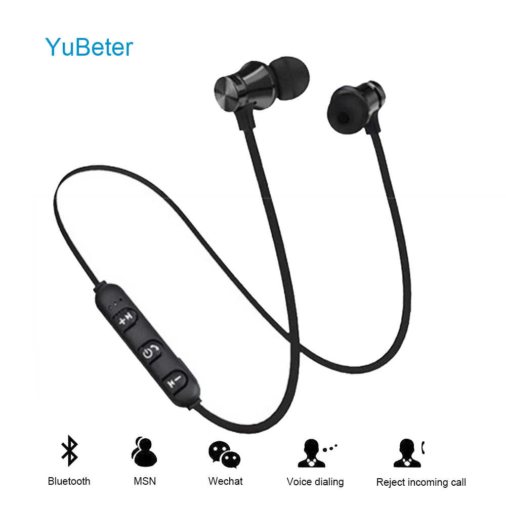 YuBeter Wireless Bluetooth Earphones Sport Neckband Earbuds Bluetooth Headsets Sweatproof Earpieces Built-in Mic Noise Reduction