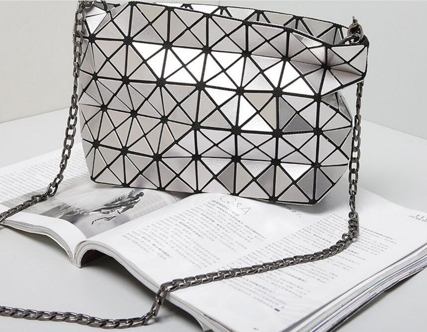 18 Famous Bao Bags Women Geometric Lingge Envelope Handbag Small Chain Clutch Ladies Shoulder Bags Messenger Bag Bao Bolsa 15