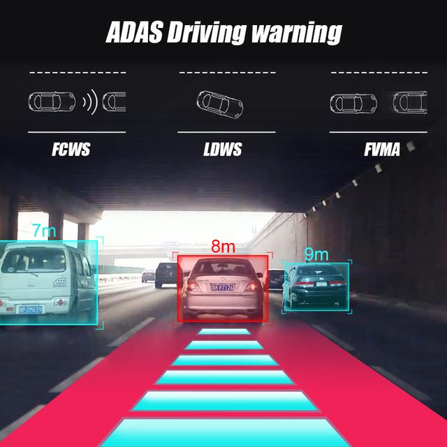 Junsun S500 ADAS Mini Car DVR Camera Full HD LDWS Auto Digital Video Recorder Dash Cam for Android Multimedia player