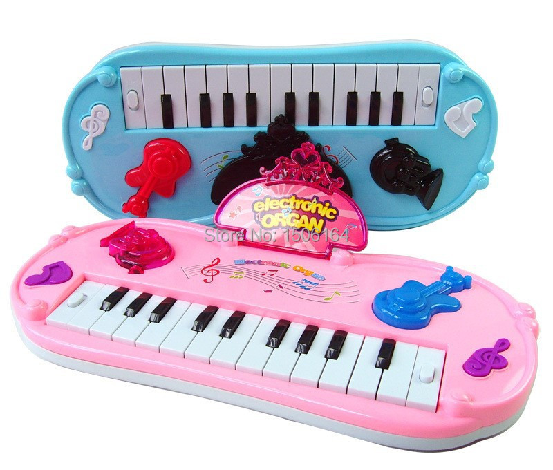 Children kids infant playing 12 keys piano electronic ...