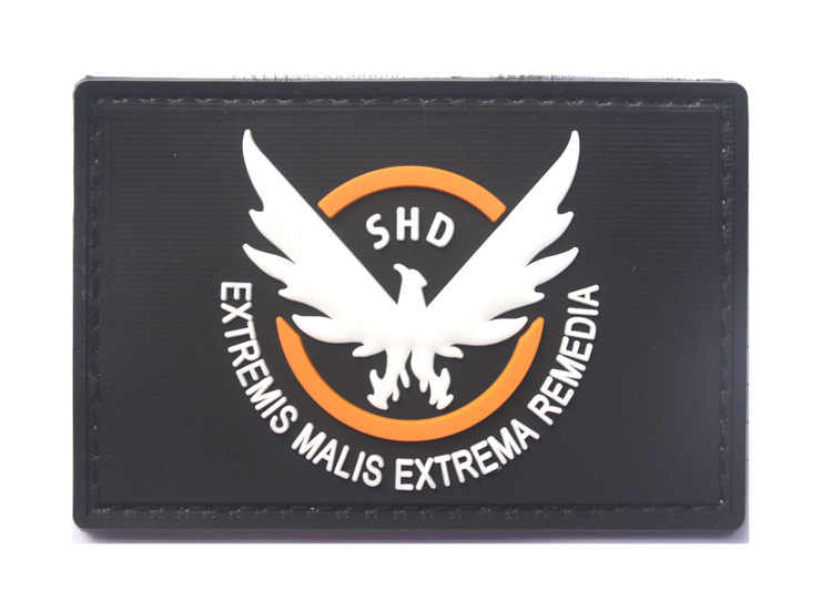 The Division SHD Ailes Multicam Airsoft Paintball Moral Patch