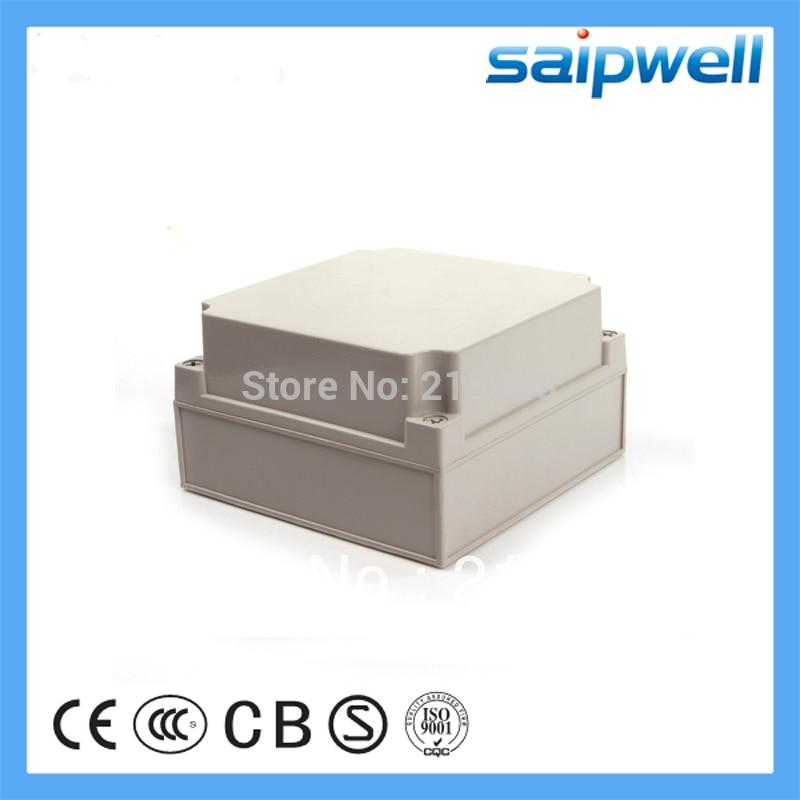 waterproof box plastic ABS switch box junction box plastic box electronics 175 175 110mm IP66 DS