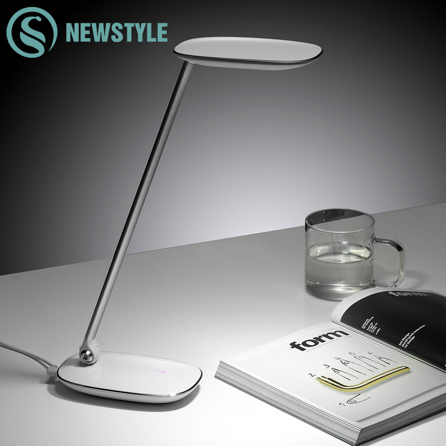 9W LED Eye-Protection LED Table Lamp Touch Switch Dimmable Desk Lamp 3Modes Reading Book Lamp for Study Office Desktops led eye protection table lamp no flicker for work with free shipping