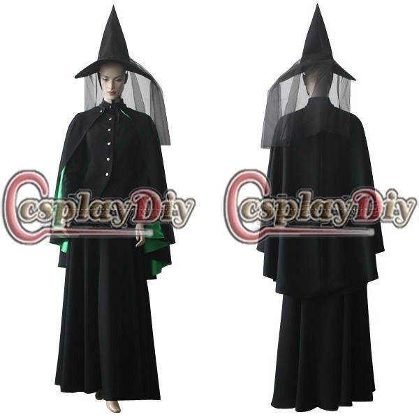 Custom Made Bad Witch Movie Cosplay Costume Halloween Outfit D1025