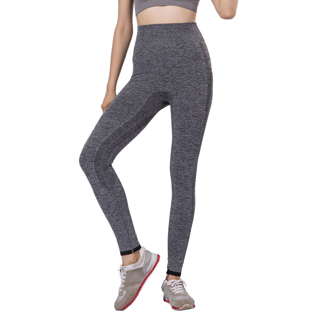 6c8bff88244215 High Waist Yoga Pants for Women Tummy Control Workout Non See-Through  Fabric Running Leggings