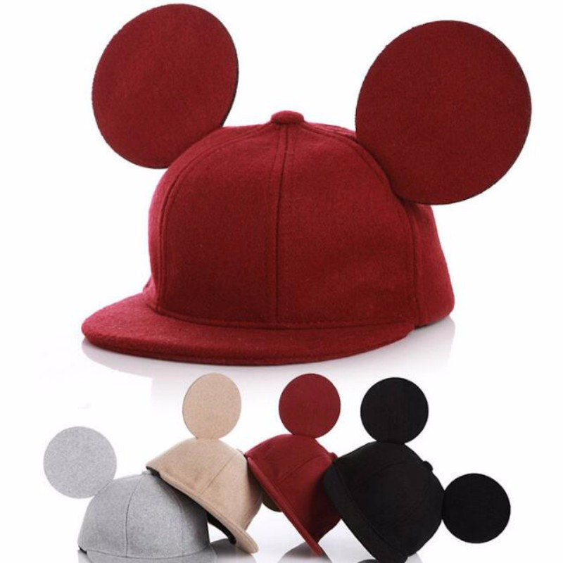 Kids Cap Baby Baseball Hat Infant Boys Girls Spring Hats Baby Girl Autumn Cute Big Ears Hip Hop Woolen Snapback Children gorra casquette polo hats for men black baseball caps golf hats outdoor gorras hip hop bone casual cotton sun dad hat snapback