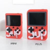 Мини-ностальгическая игра детская портативная игровая консоль USB Ручной Ретро Классический bulit-in 129 игры 168 игры
