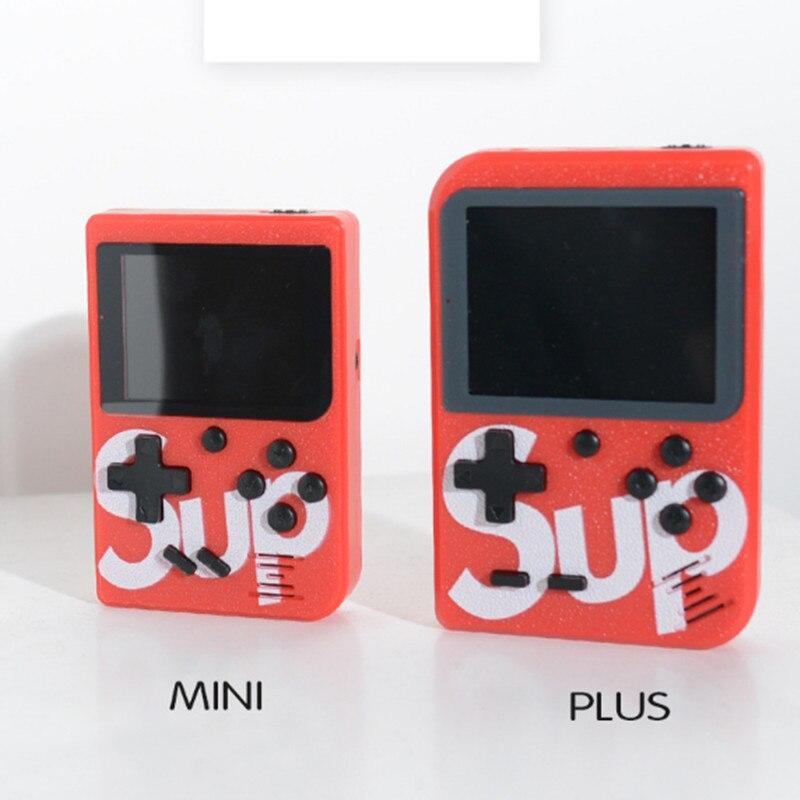 Mini Jeu Nostalgique enfants Console De Jeu Portable Tenu Dans la Main D'USB Rétro Classique bulit-in 129 jeu 168 Jeux