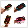 Pulse Oximeter Oximetro de pulso de dedo LED Display Saturometro Pulsioximetro 4 Color Free Shipping