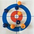 Nueva Creativo 120*28 cm Mini Curling Pelota de Juguete Deportes Familia de Interior Juegos de Mesa