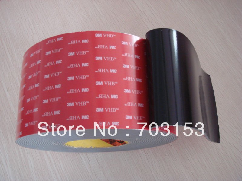 3m vhb double sided custom cutting clear acrylic foam tape 50mmx33mx1 6mm