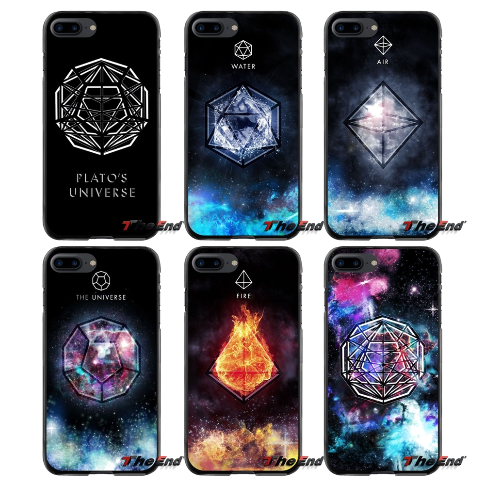 earth element symbol air water fire Hard Phone Skin Case Cover For Apple iPhone 4 4S 5 5S 5C SE 6 6S 7 8 Plus X iPod Touch 4 5 6