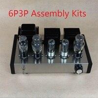 Nobsound DIY 6P3P Главная Аудио лампового усилителя чехол для ноутбука 6N8P чистый полный комплект ламповый усилитель сборки DIY Наборы 8 Вт + 8 Вт AC110V/220