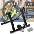 Indoor Fahrrad Bike Trainer 4 29 Zoll Wireless Schwarz Innen Fahrrad Bike Trainer Übung Fitness Stand-in Fahrrad-Rollentrainer aus Sport und Unterhaltung bei