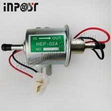 12 V Bomba De Combustível Elétrica New Sliver Linha de Baixa Pressão de Gás Diesel HEP-02A