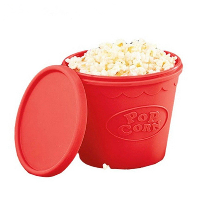 High Quality  Arrival DIY Silicone Microwave Popcorn Maker Bucket Snack Bucket Family Party Supplies Kitchen ToolsHigh Quality  Arrival DIY Silicone Microwave Popcorn Maker Bucket Snack Bucket Family Party Supplies Kitchen Tools