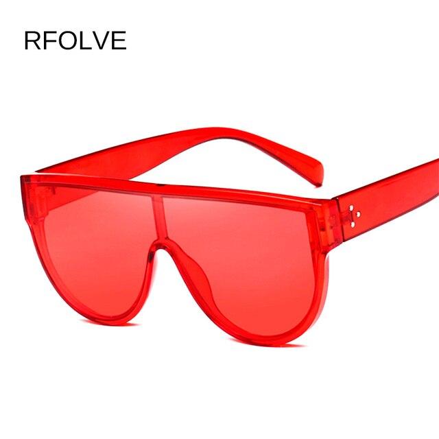 0d40e1e6b6 RFOLVE Square Vintage Oversized Sunglasses Women Fashion G Brand Designer  Black Red Sun Glasses Ladies Shades UV Goggles R8583