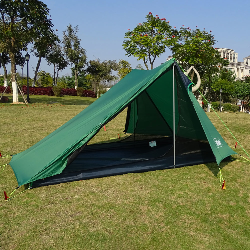 A Peak Ultralight Tent 1 2 Person for Camping Hiking Backpacking Poleless Waterproof Solo Single Bivvy